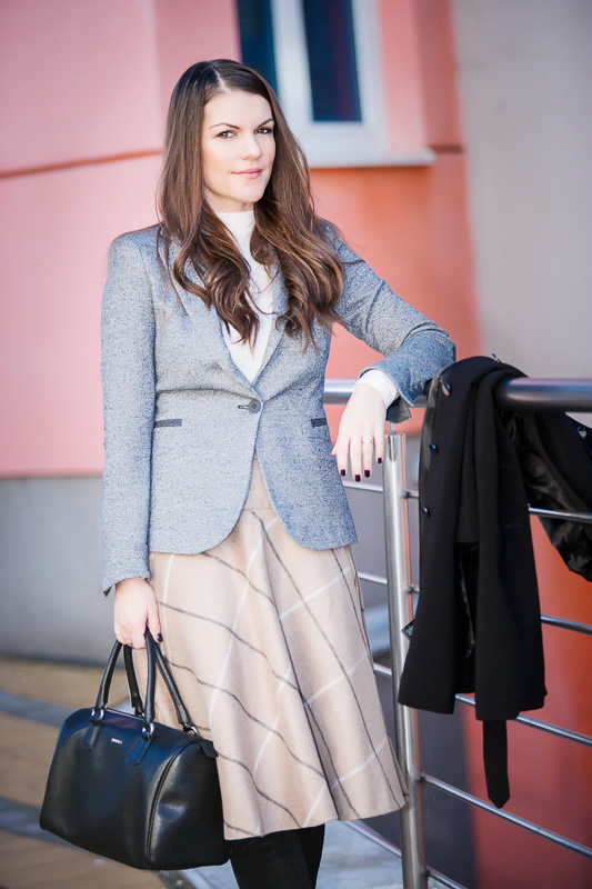 Midi skirt & Blazer