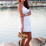 White Dress & Sunset