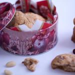 Mandľovo-brusnicové sušienky