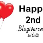 Blogiversary Súťaž